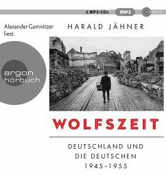 Wolfszeit, 2 MP3-CD - Jähner, Harald
