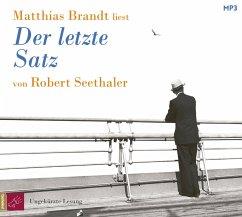 Der letzte Satz, 1 MP3-CD - Seethaler, Robert
