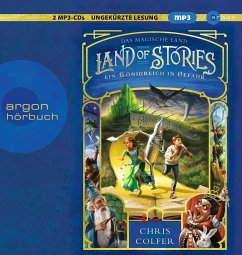Ein Königreich in Gefahr / Land of Stories Bd.4 (2 MP3-CDs) - Colfer, Chris