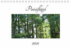 Poesieflügel 2021 (Tischkalender 2021 DIN A5 quer)