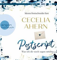 Postscript - Was ich dir noch sagen möchte / Holly Kennedy Bd.2 (1 MP3-CD) - Ahern, Cecelia