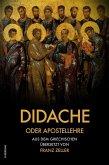 Didache oder Apostellehre (eBook, ePUB)