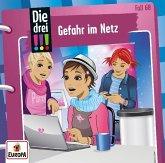 Die drei !!! - Gefahr im Netz / Die drei Ausrufezeichen Bd.68 (1 Audio-CD)