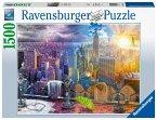 New York im Winter und Sommer (Puzzle)