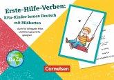 Erste-Hilfe-Verben: Kita-Kinder lernen Deutsch mit Bildkarten