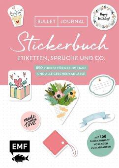 Bullet Journal - Stickerbuch - Etiketten, Sprüche und Co.