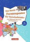 Lernposter für die Vorschule / Das bunte Formenposter für Vorschulkinder
