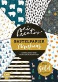 Sei kreativ! - Bastelpapier Christmas - Bastelideen und 30 Bogen Motivpapier in 2 Stärken (120 g/qm, 250 g/qm)