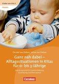 Ganz nah dabei - Alltagssituationen in Kitas für 0- bis 3-Jährige, DVD m. Buch