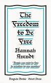 The Freedom to Be Free (eBook, ePUB)