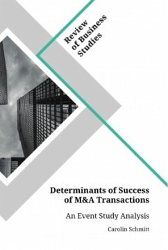 Determinants of Success of M&A Transactions