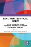 Family Values and Social Justice (eBook, ePUB)