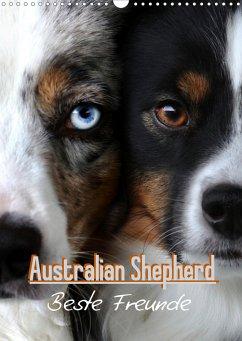 Australian Shepherd - Beste Freunde (Wandkalender 2021 DIN A3 hoch)
