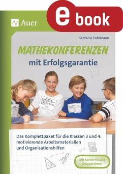 Mathekonferenzen mit Erfolgsgarantie (eBook, PDF) - Pohlmann, Stefanie