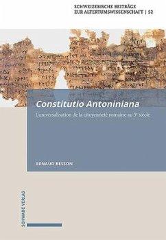 Constitutio Antoniniana - Besson, Arnaud