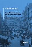 Rudolf Goldscheid: Grundlinien zu einer Kritik der Willenskraft