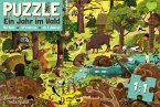 Ein Jahr im Wald - Frühling - Puzzle
