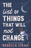 The List of Things That Will Not Change (eBook, ePUB)