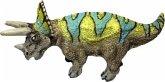 Bullyland 61317 - Mini Dinosaurier Triceratops, Mini Spielfigur, 3 cm