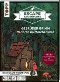 Escape Adventures - Gebrüder Grimm: Verloren im Märchenwald (NEUE Codeschablone für mehr Rätselspaß)
