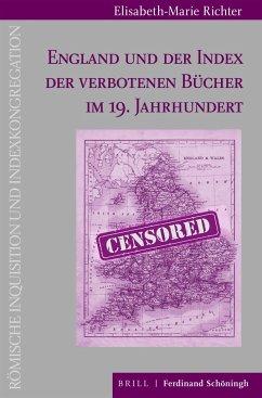 England und der Index der verbotenen Bücher im 19. Jahrhundert - Richter, Elisabeth-Marie