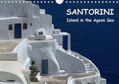 Santorini - Island in the Agean Sea (Wall Calendar 2021 DIN A4 Landscape)