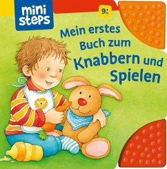 Mein erstes Buch zum Knabbern und Spielen (Mängelexemplar) - Grimm, Sandra