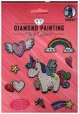 "Diamond Painting Sticker ""Unicorn"""