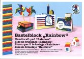 "Bastelblock ""Rainbow"""