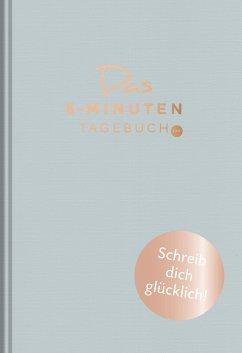Das 6-Minuten-Tagebuch pur (aquarellblau) - Spenst, Dominik
