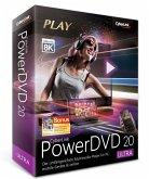 CyberLink PowerDVD 20 Ultra, 1 DVD-ROM