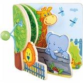 Haba Holz-Babybuch Zoofreunde