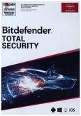 Bitdefender Total Security, 10 Geräte, 18 Monate