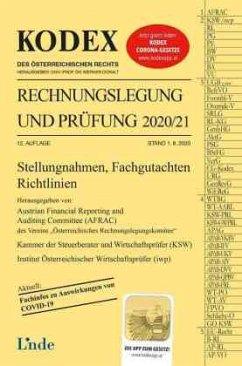 KODEX Rechnungslegung und Prüfung 2020/21 - Gedlicka, Werner; Knotek, Markus; Bakel-Auer, Katharina