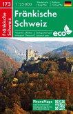Fränkische Schweiz, Wander - Radkarte 1 : 25 000