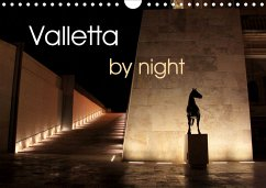Valletta by night (Wall Calendar 2021 DIN A4 Landscape)
