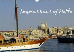 Impressions of Malta (Wall Calendar 2021 DIN A3 Landscape)