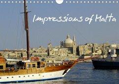 Impressions of Malta (Wall Calendar 2021 DIN A4 Landscape)