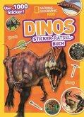 Dinos Sticker-Rätsel-Buch mit über 1000 Stickern