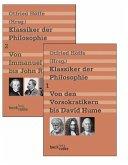 Klassiker der Philosophie Bd. 1: Von den Vorsokratikern bis David Hume. Bd. 2: Von Immanuel Kant bis John Rawls
