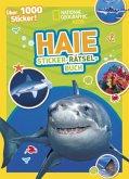 Haie Sticker-Rätsel-Buch mit über 1000 Stickern