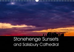 Stonehenge Sunsets & Salisbury Cathedral (Wall Calendar 2021 DIN A3 Landscape)