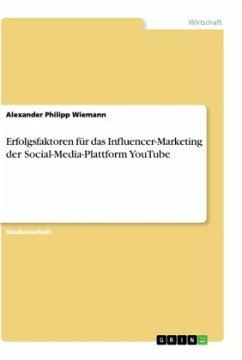 Erfolgsfaktoren für das Influencer-Marketing der Social-Media-Plattform YouTube