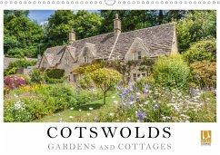 Cotswolds Gardens and Cottages (Wall Calendar 2021 DIN A3 Landscape)