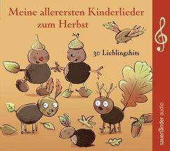 Meine allerersten Kinderlieder zum Herbst, 1 Audio-CD (Restauflage) - Meine allerersten Kinderlieder zum Herbst, 1 Audio-CD