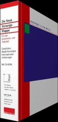 Die Neue Vorsorge-Mappe, m. CD-ROM