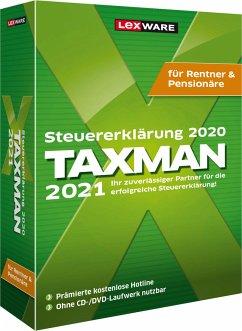 TAXMAN 2021 für Rentner & Pensionäre, DVD-ROM