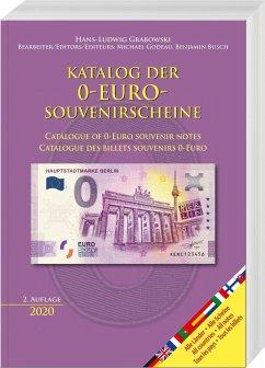 Katalog der 0-Euro-Souvenirscheine - Grabowski, Hans-Ludwig