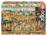 Carletto 9218505 - Educa, Hieronymus Bosch, The Garden of Earthly Delight, Puzzle, 2000 Teile