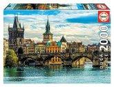 Carletto 9218504 - Educa, View of Prague, Prag, Puzzle, 2000 Teile